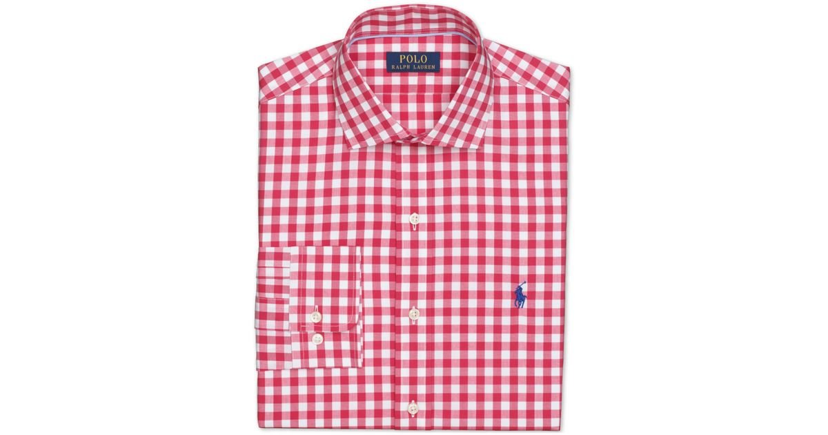 Gingham Check Shirt Mens