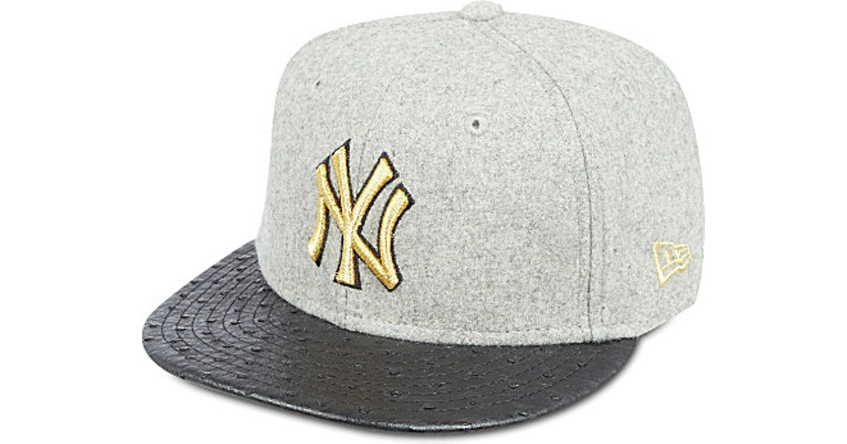 385a0d6eeee290 KTZ 59Fifty Ny Yankees Fitted Cap - For Men in Gray for Men - Lyst