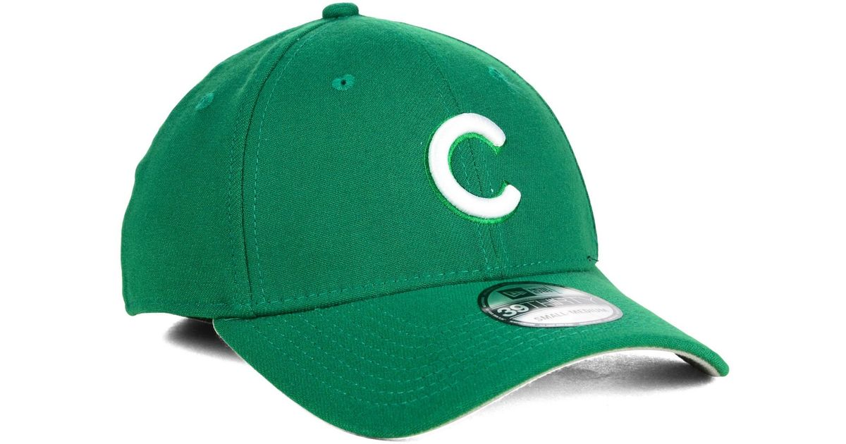 outlet store 255aa 9b9e5 ... where to buy lyst ktz chicago cubs st. patty classic 39thirty cap in  green for discount mlb mens new era ...