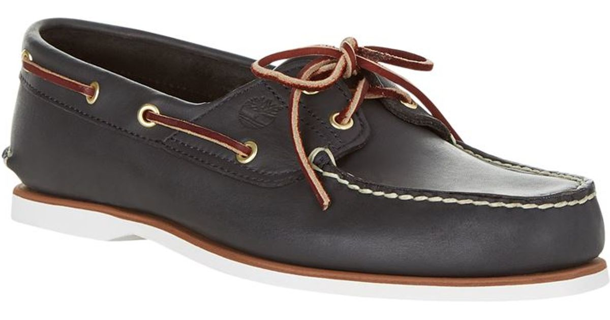 Timberland Classic Boat Shoe Black