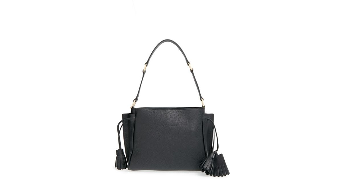 fbe8e8797ac6 Lyst - Longchamp  Penelope  Shoulder Bag in Black