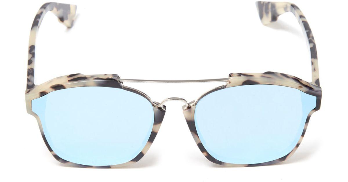 357c30f3cebc Dior Black Abstract Sunglasses in Black - Lyst