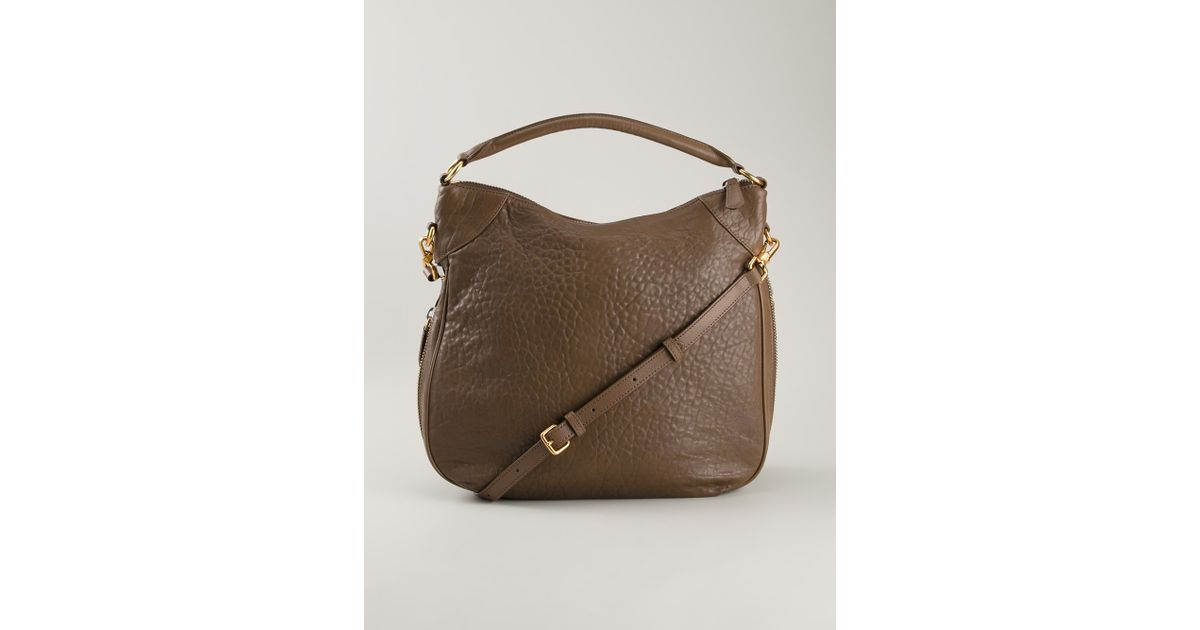f59240c8125 Marc By Marc Jacobs Washed Up Billy Hobo Bag in Brown - Lyst