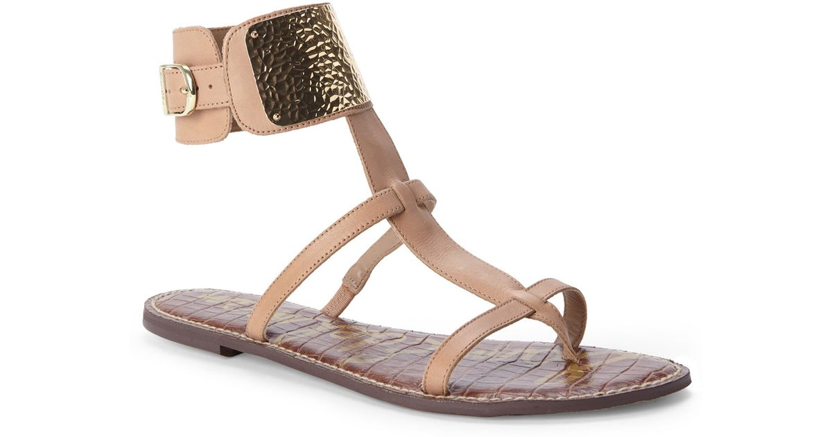 e175613953e8 Lyst - Sam Edelman Nude Genette Sandals in Natural