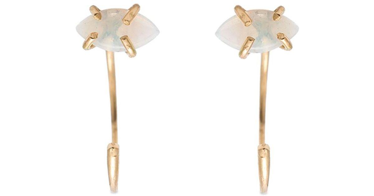 Melissa Joy Manning cross stud earrings - Metallic 2wMpRdQ