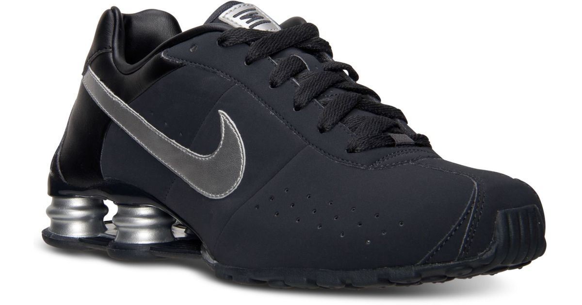 b12515864328 Lyst - Nike Mens Shox Classic Ii Si Running Sneakers From Finish Line in  Gray for Men