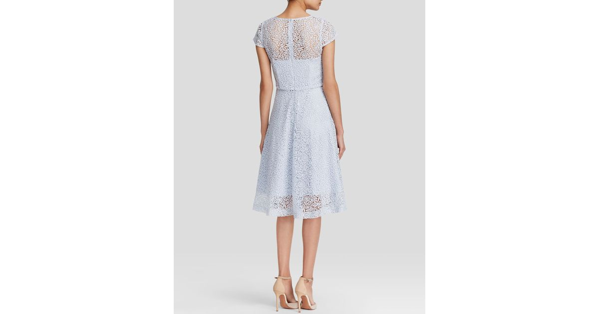 17702507d85 Reiss Rhomona Floral Lace Dress - Bloomingdale S Exclusive in White - Lyst