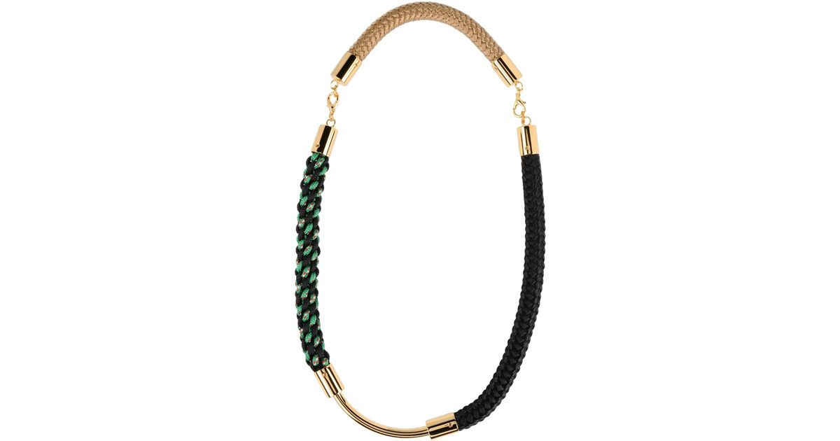 marni black reebonz necklace in mode bgcolor jewellery fff pad on