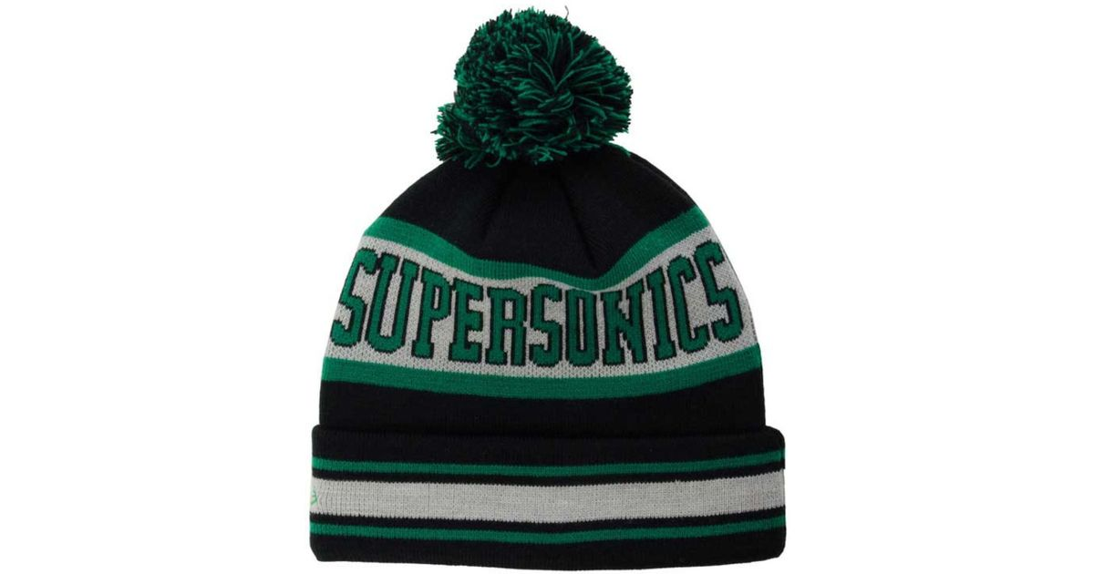 949e1f6ab6516 Lyst - KTZ Seattle Supersonics Fashion Biggest Fan Knit Hat for Men