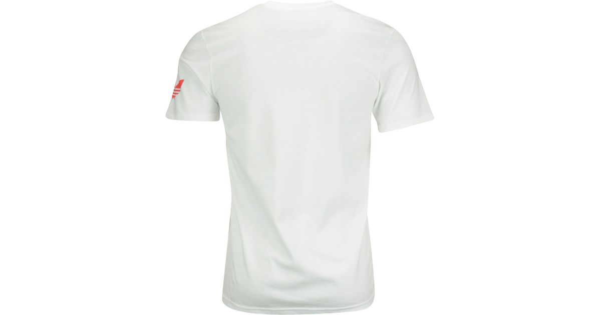 Lyst Adidas Originals Men S Miami Heat And Clean T Shirt In White For