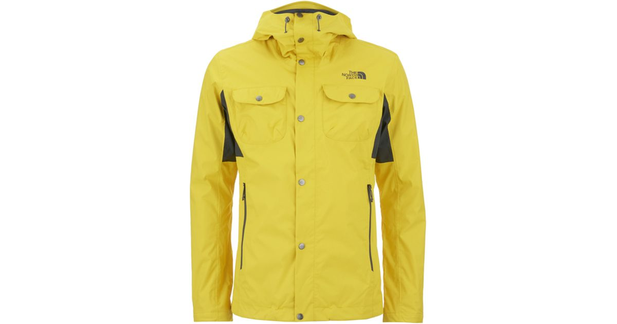 2a5965eafe4c The North Face Men s Arrano Jacket in Yellow for Men - Lyst