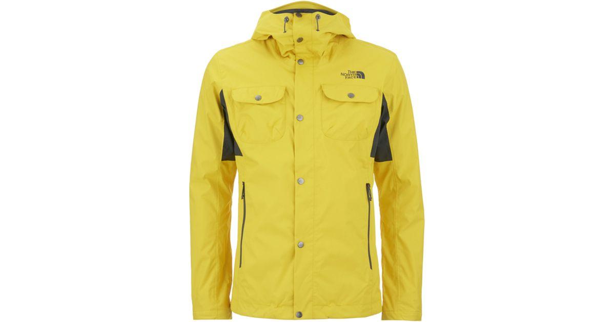 1e89783e8edf The North Face Men s Arrano Jacket in Yellow for Men - Lyst