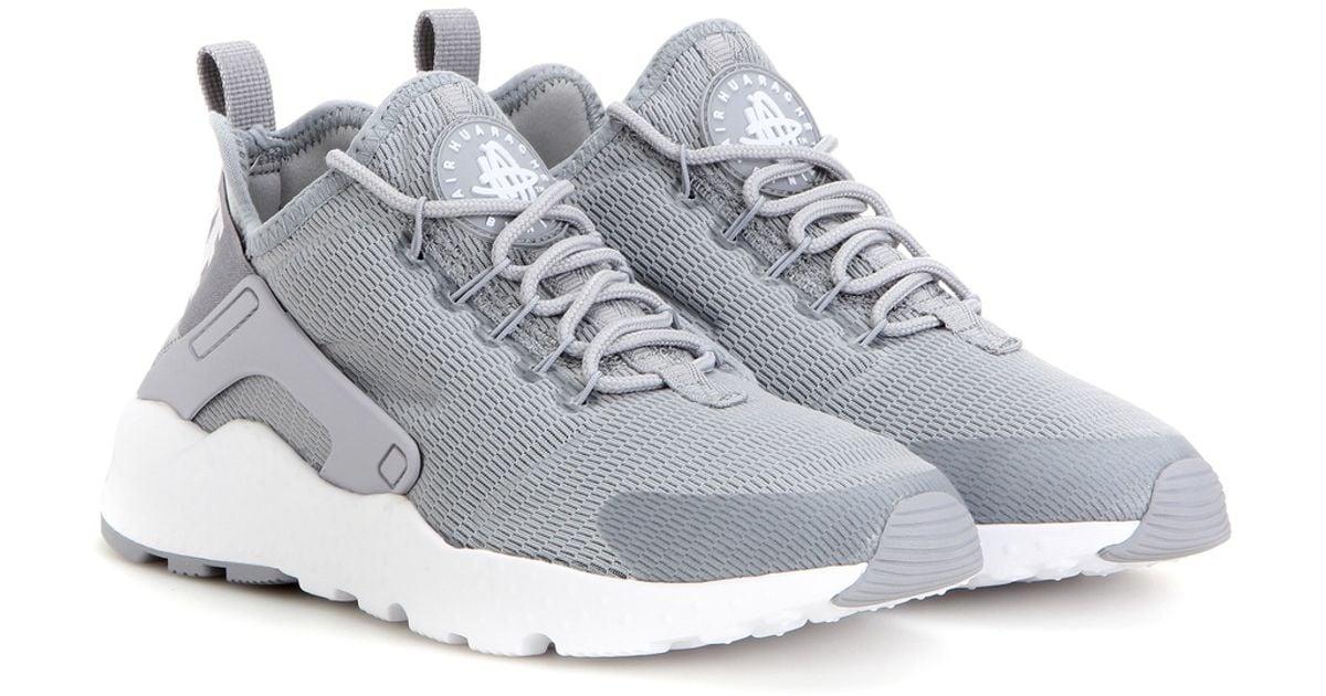 db9ea4f0311c Lyst - Nike Air Huarache Run Ultra Sneakers in Gray