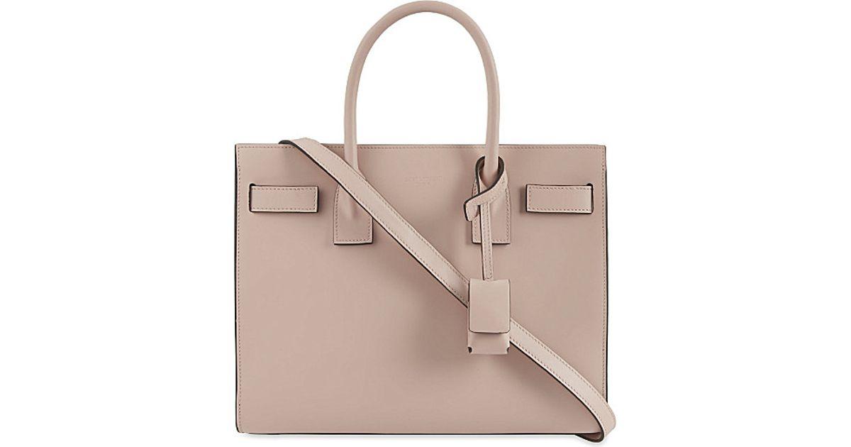 fake ysl lipstick - classic small sac de jour bag in pale blush leather