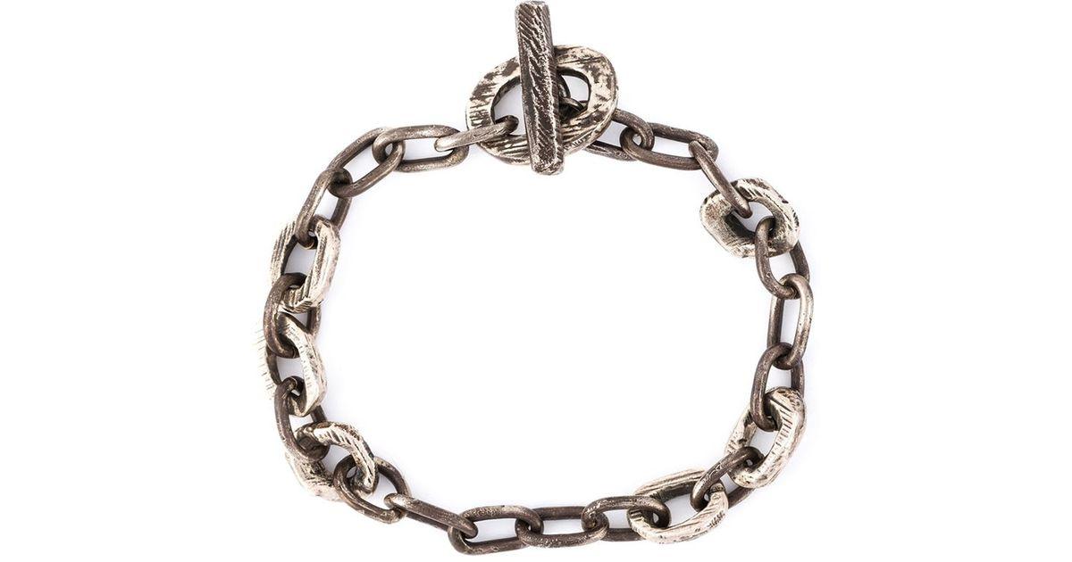 Henson large cage link bracelet - Metallic O5zviq0J