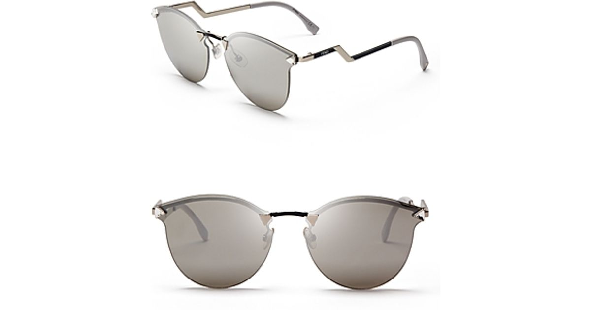 d05b006b13 Fendi Iridia Mirrored Cat-eye Sunglasses