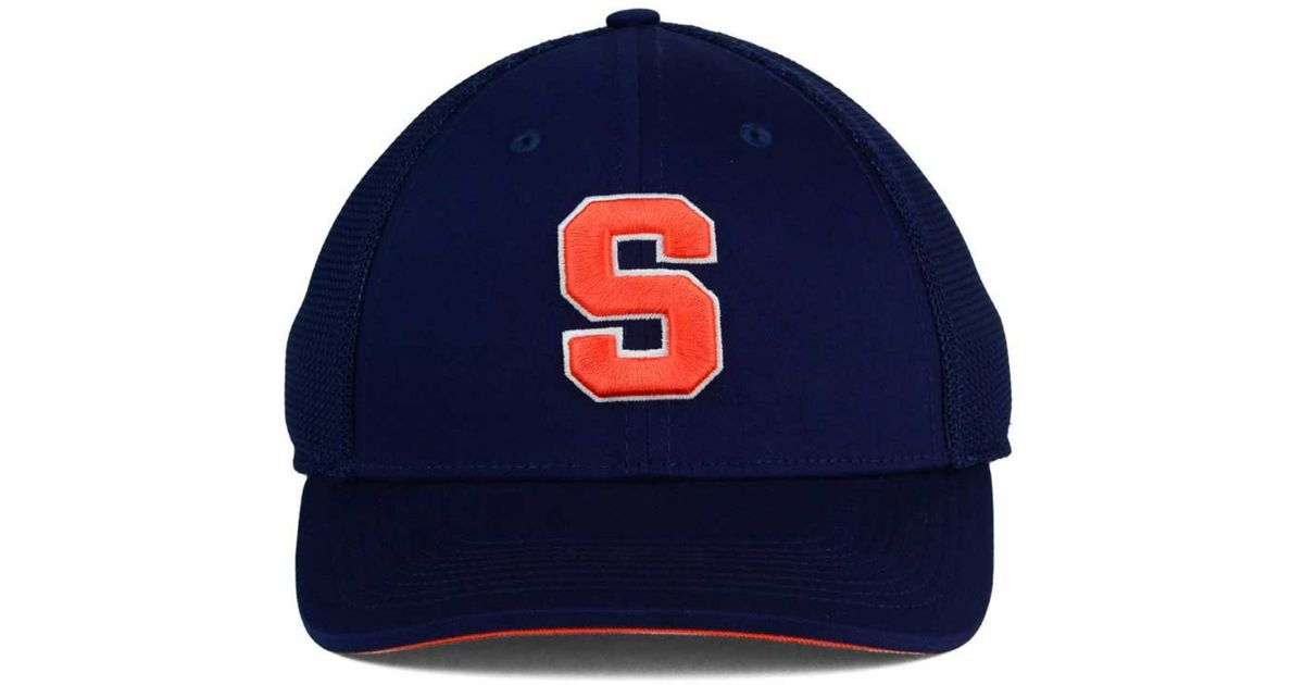 cheap for discount 809bb 6c5df ... reduced lyst nike syracuse orange l91 mesh swoosh flex cap in orange  for men 1b12e be256