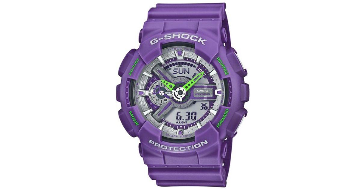 1bd979de5 Lyst - G-Shock 'x-large Big Combi' Watch in Purple