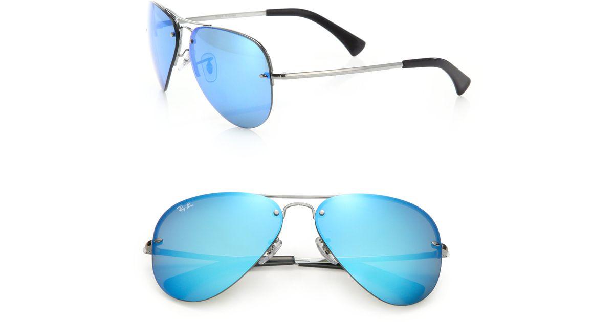 0f0db0ea8 Blue Mirrored Aviator Sunglasses Ray Ban Xe | Louisiana Bucket Brigade