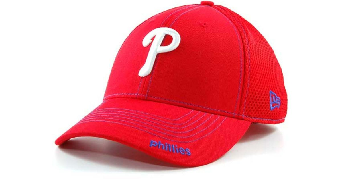 2a1ac85a7f5 Lyst - KTZ Philadelphia Phillies Mlb Neo 2012 39thirty Cap in Red for Men