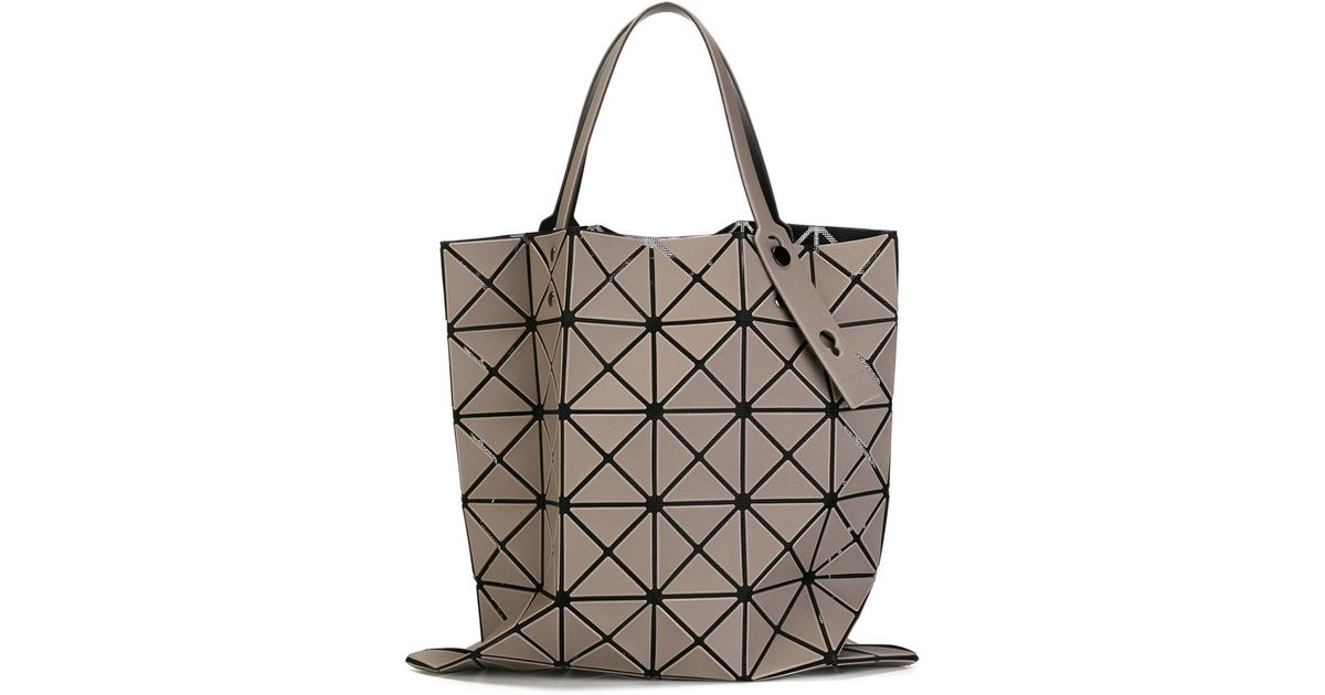 f83a1ebec2 Bao Bao Issey Miyake  lucent Basic  Tote in Gray - Lyst