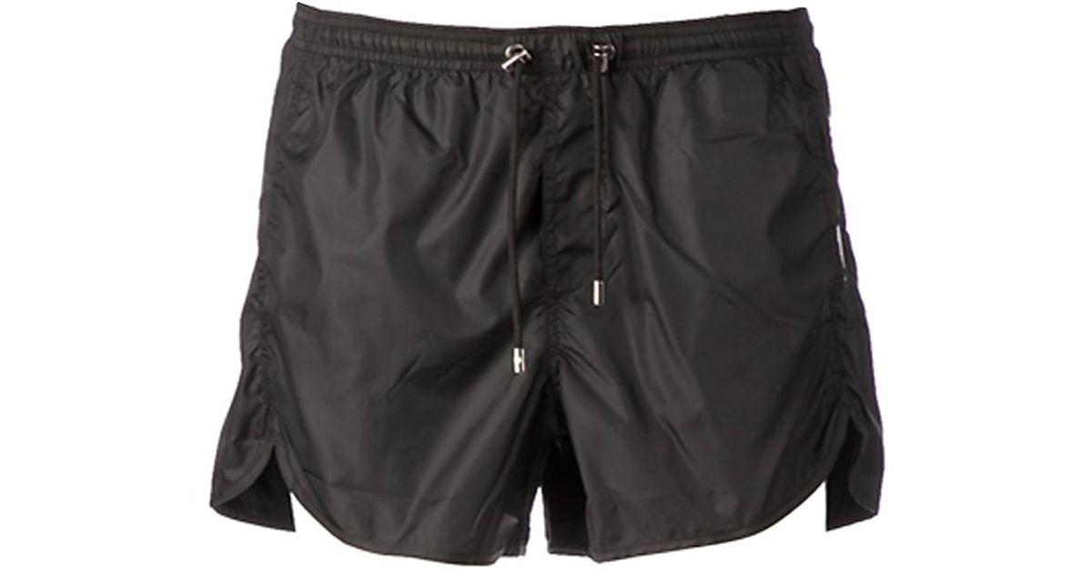 5293a3c680d38 Neil Barrett Swim Shorts in Black for Men - Lyst