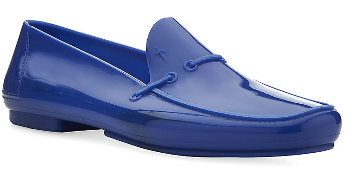 f9b3772bec1 Cesare Paciotti Jelly Loafers in Blue for Men - Lyst