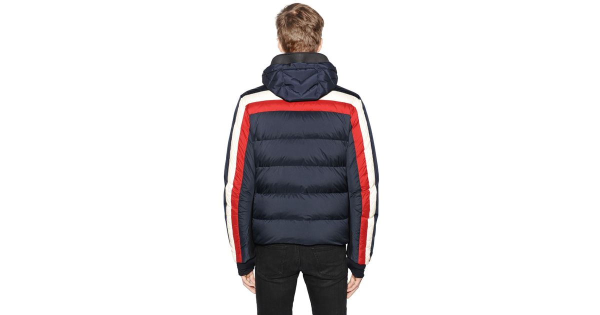moncler jacket red white and blue