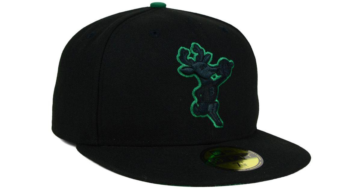 11072cf43cc247 KTZ Milwaukee Bucks Pop Flip 59fifty Cap in Black for Men - Lyst