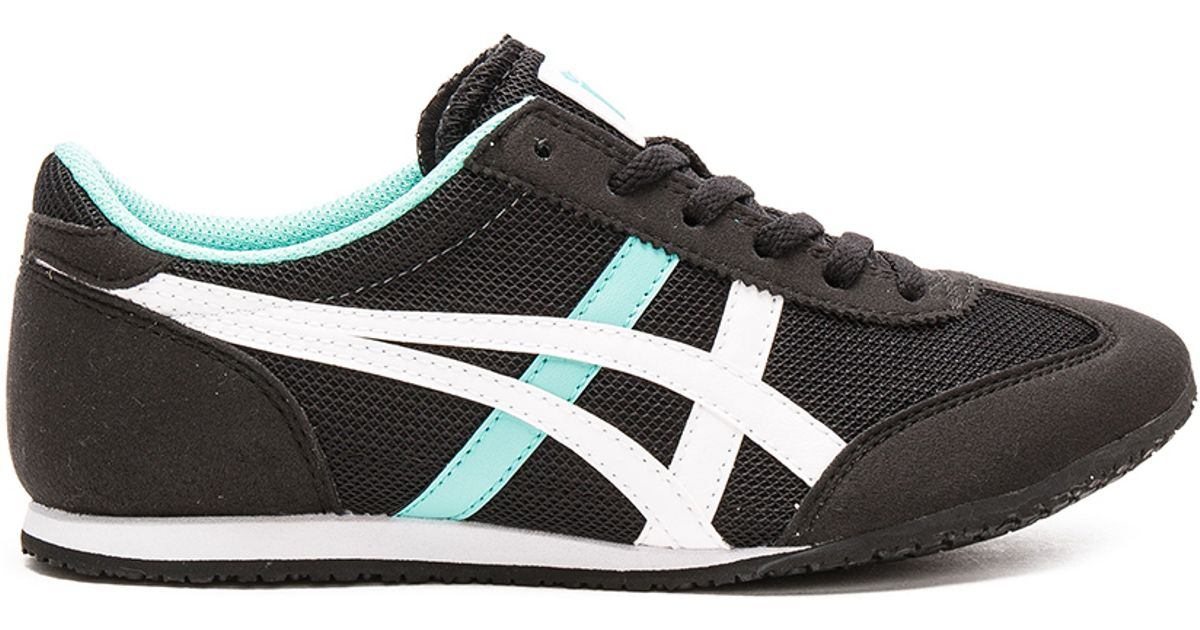 sneakers for cheap 144e9 dc8f6 Onitsuka Tiger - Black Machu Racer Sneakers - Lyst