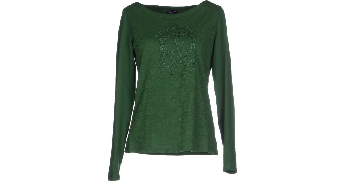 armani jeans t shirt in green lyst. Black Bedroom Furniture Sets. Home Design Ideas