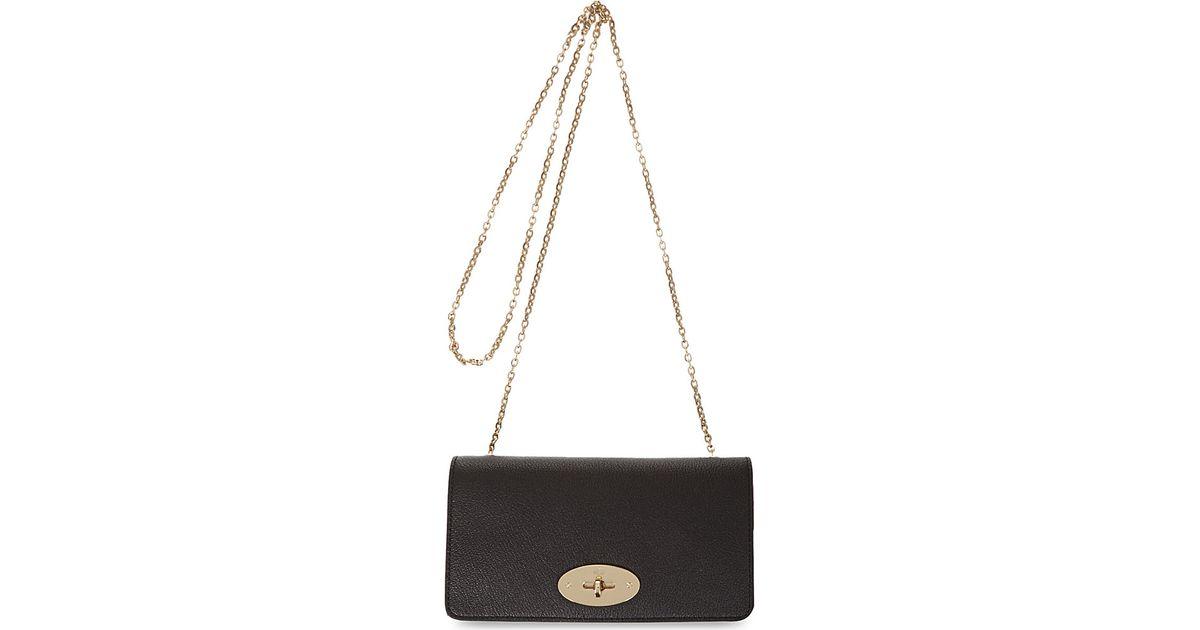 c74837eff2 ... canada mulberry bayswater clutch wallet in black lyst 72296 30599