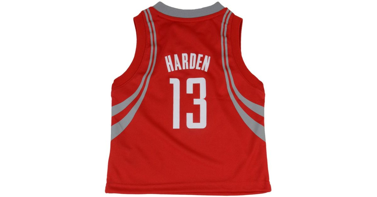 c8d25fcab adidas Toddlers' James Harden Houston Rockets Replica Jersey in Red for Men  - Lyst