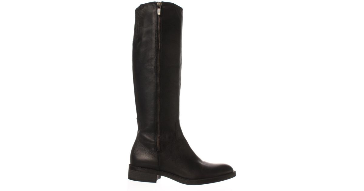061a34a8eefc Lyst - Enzo Angiolini Shobi Wide Calf Riding Boot in Black