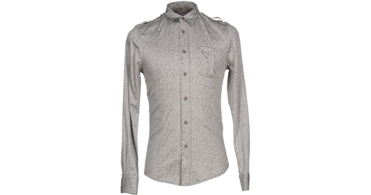 Alice san diego Shirt in Gray for Men | Lyst