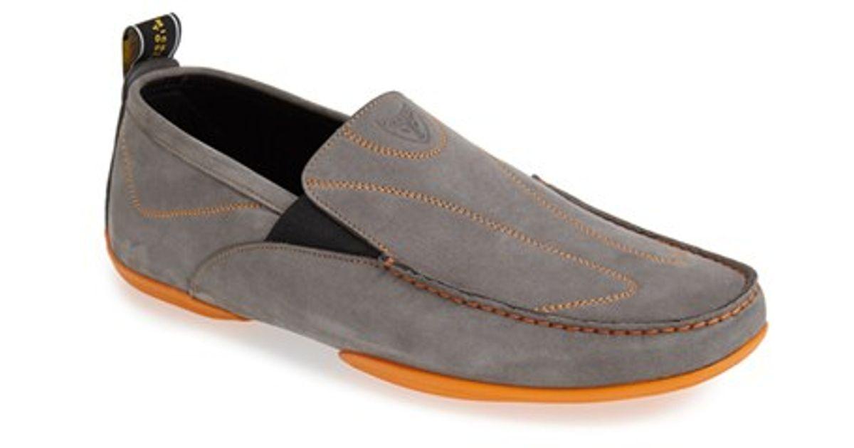 eecc0c43e22 Lyst - Michael Toschi  onda Sport  Driving Shoe in Gray for Men