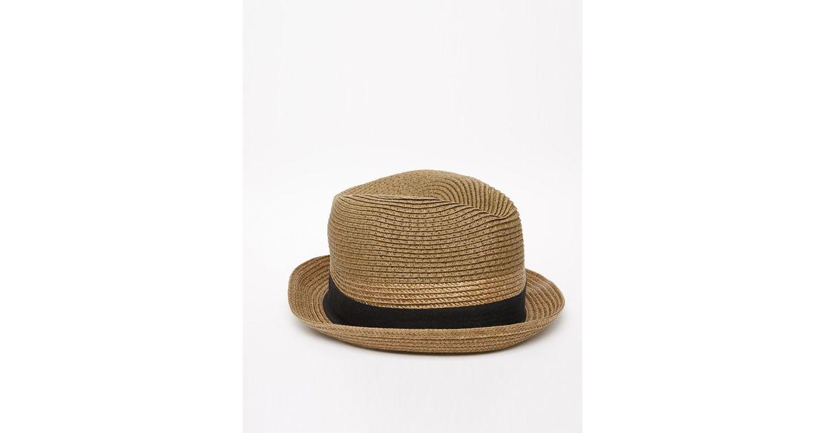 1b318fb30b2 Diesel Citsuyer Trilby Hat in Brown for Men - Lyst