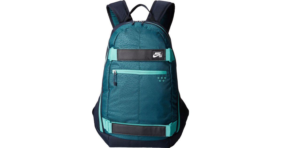 f4d801e929a8 Lyst - Nike Embarca Medium Backpack in Blue