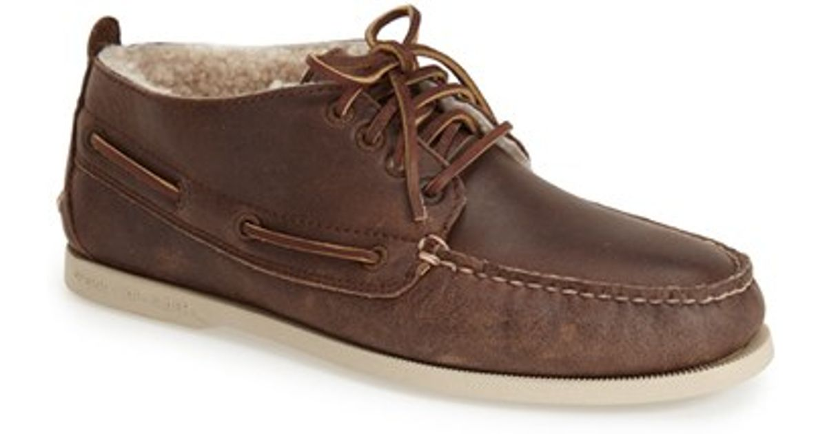 Sperry top-sider 'authentic Original Winter' Genuine Shearling ...
