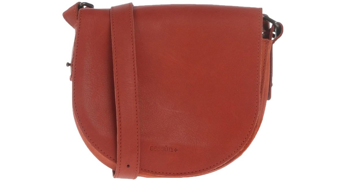 72e508b68a Sessun Cross-body Bag in Red - Lyst