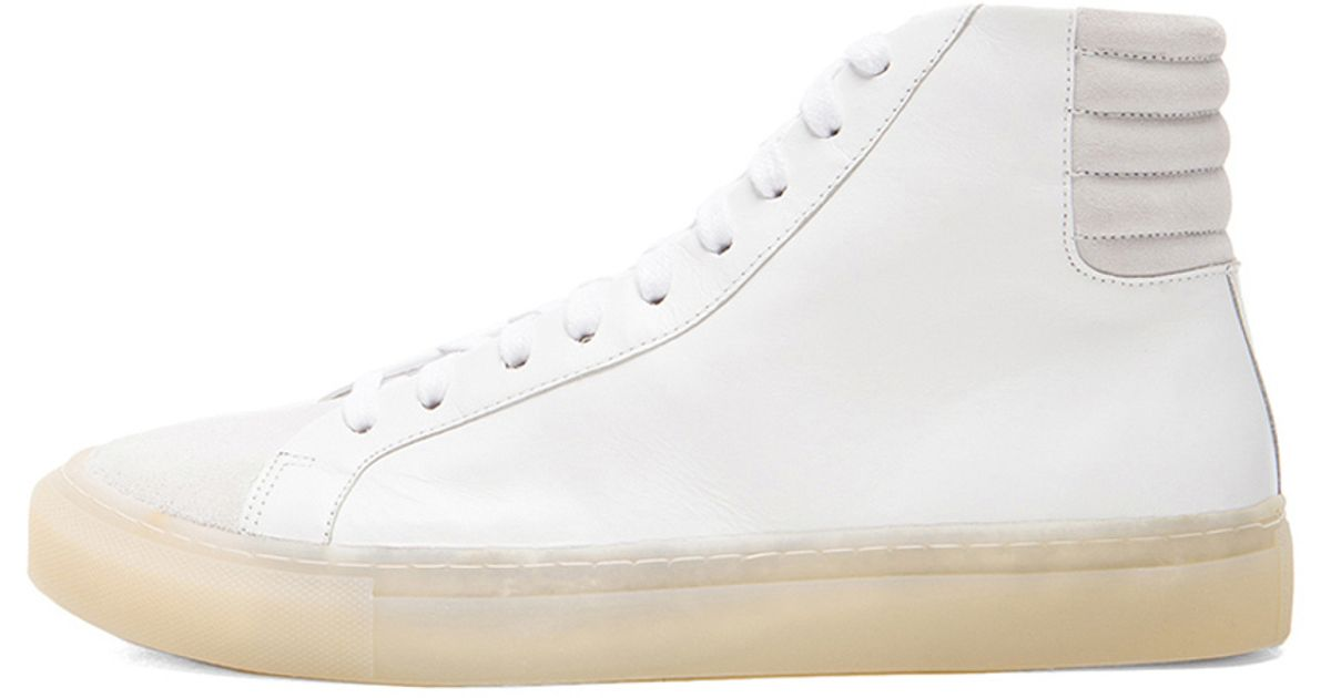 High Sneakers White In Lyst Doma Top Damir Fulmar Silent aY4wfqv