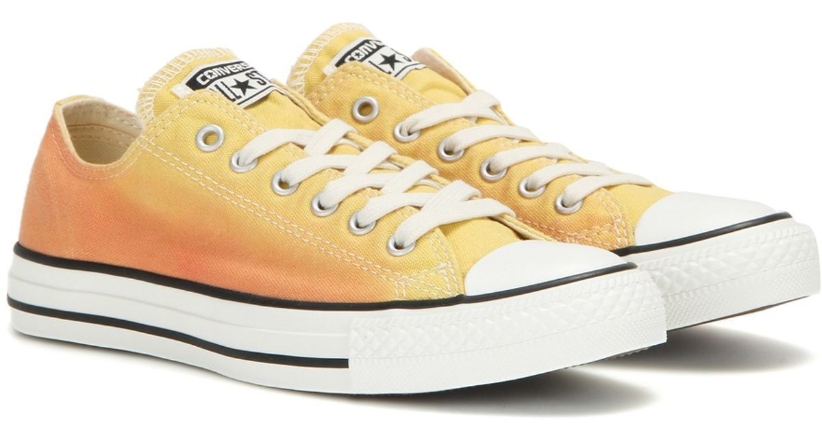 9e24e9dc7a4d Converse Chuck Taylor All Star Sunset Wash Sneakers in Yellow - Lyst