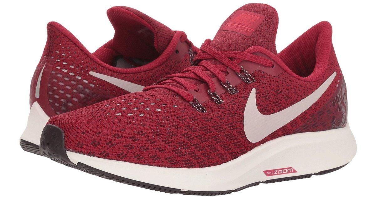 33423259bae3 Lyst - Nike Air Zoom Pegasus 35 in Red