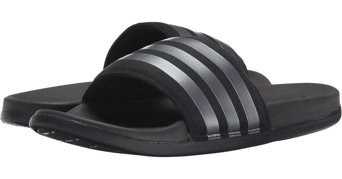 1ca4e106789b6 Lyst - adidas Adilette Supercloud Plus in Black for Men