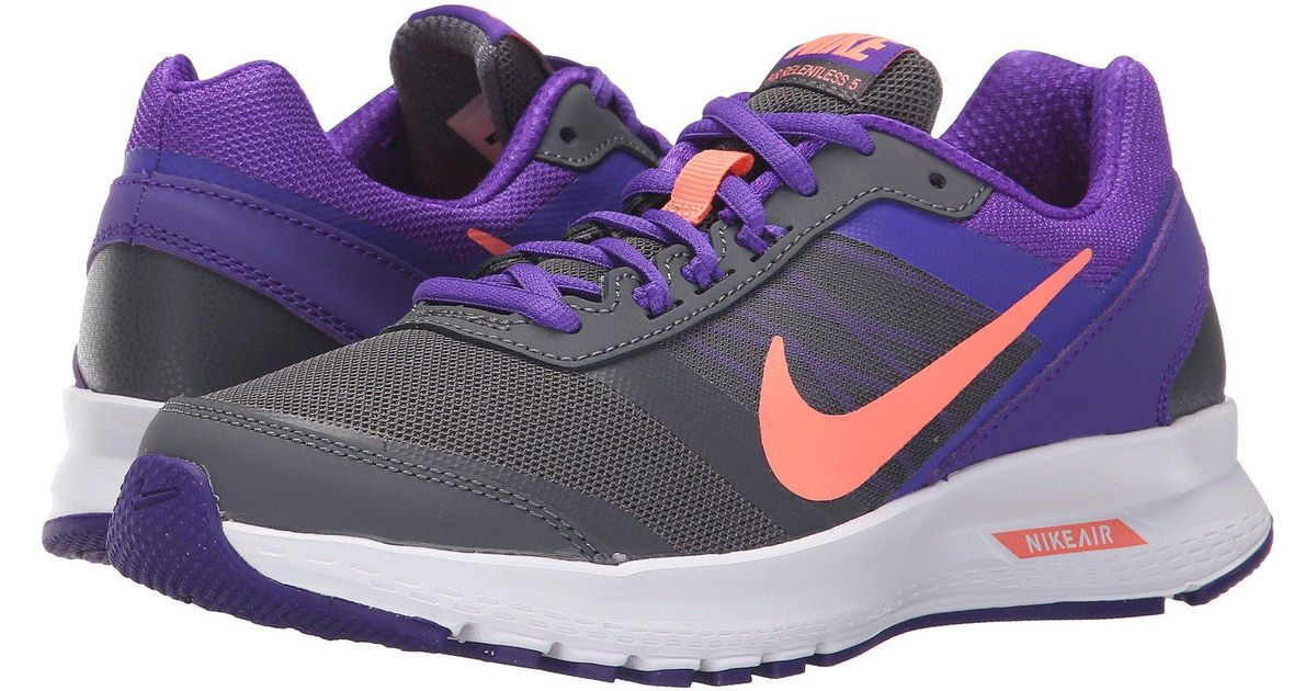 8213640d5046 Lyst - Nike Air Relentless 5 in Purple