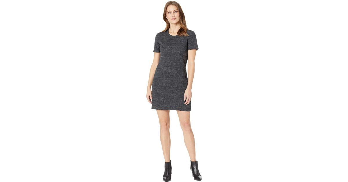 dbb5331d7d7f Alternative Apparel Eco Rib Dress in Black - Lyst