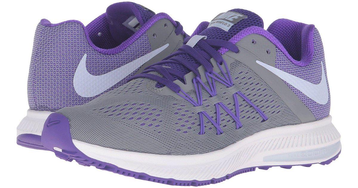 huge selection of 85317 fd3f1 Nike Zoom Winflo 3 in Purple - Lyst