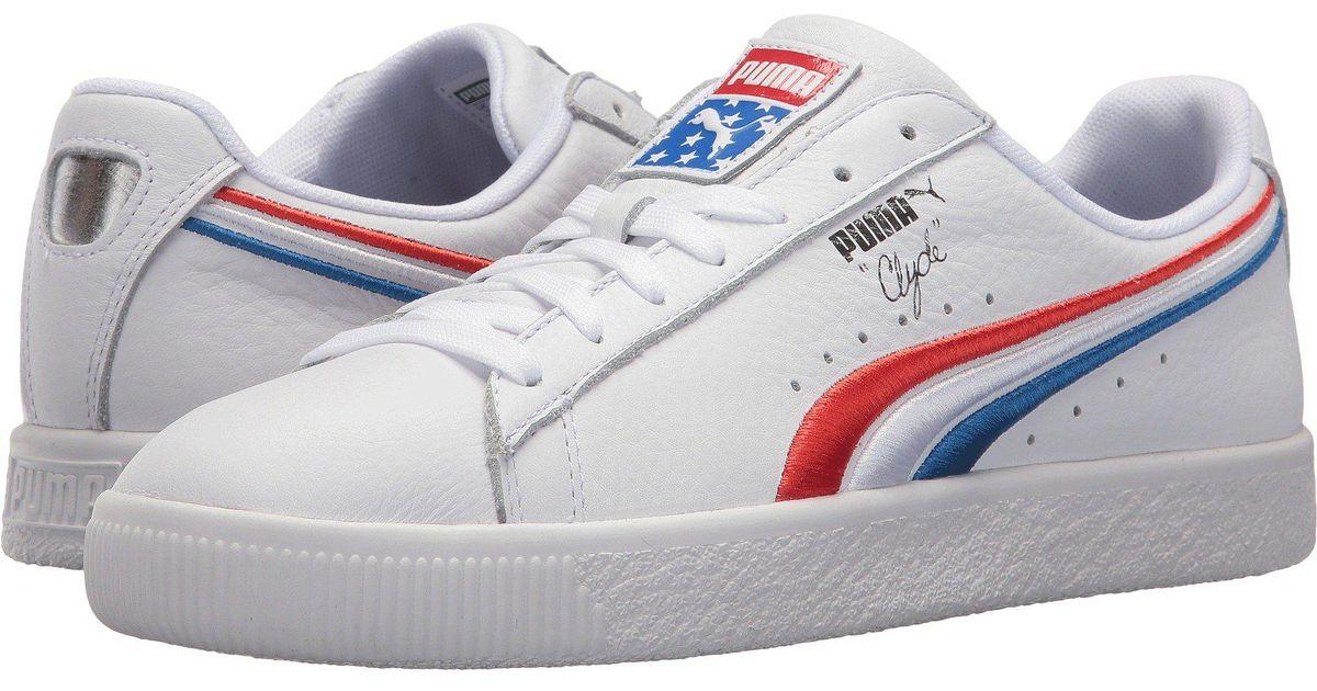 puma clyde 4th of july c0a998649