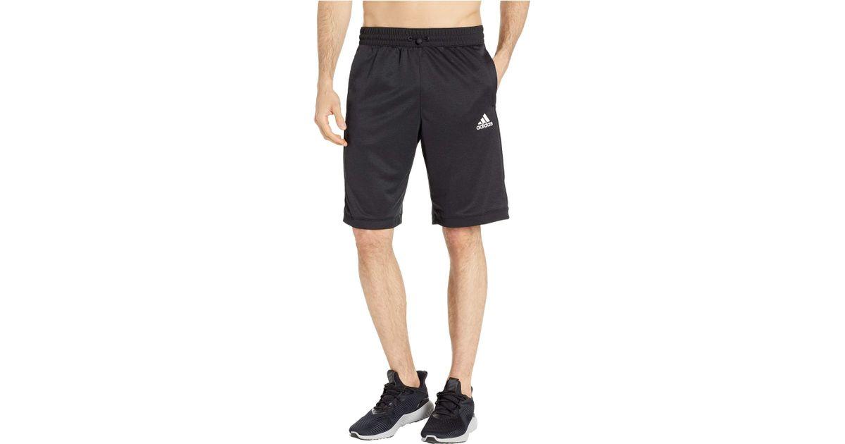 fc90fd8ec Lyst - adidas Team Issue Lite Shorts in Black for Men