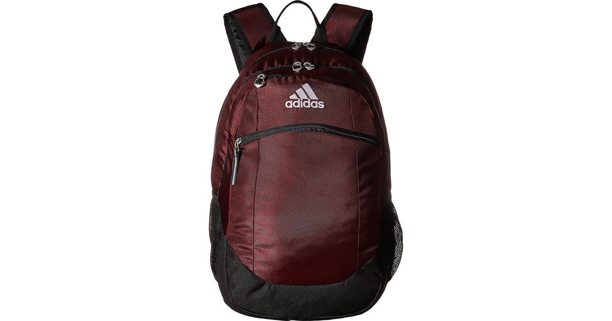 Lyst - adidas Striker Ii Team Backpack in Black 30aa2318985c1